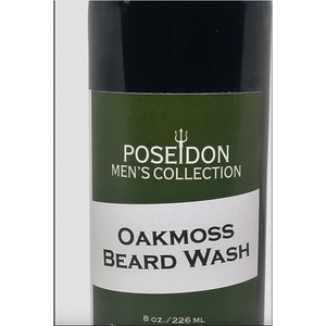 Poseidon Men's Collection - Oakmoss Beard Wash