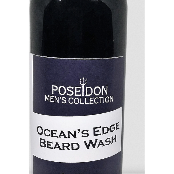 Poseidon Men's Collection - Ocean's Edge Beard Wash