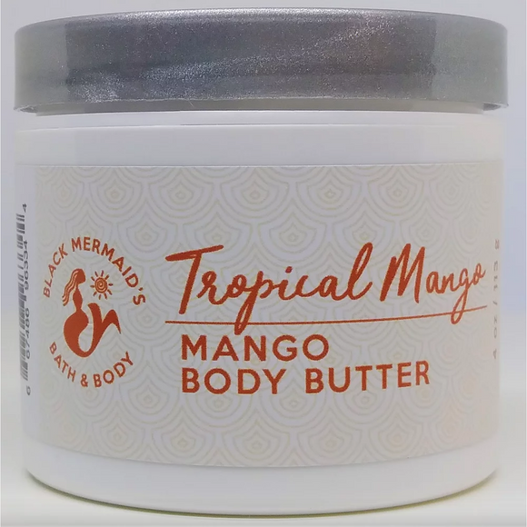 Black Mermaid's - Tropical Mango Body Butter