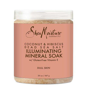 Shea Moisture Coconut & Hibiscus Sea Salt Soak 20Oz