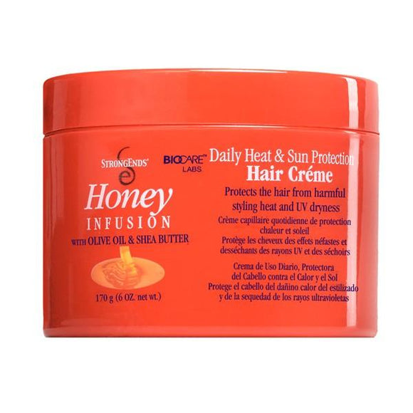 Strong Ends Sun & Heat Protection Hair Cream 6 Oz