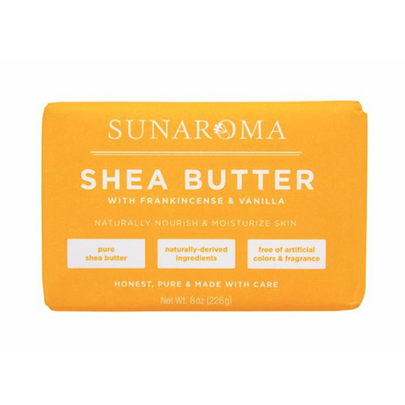Sunaroma Shea Butter Soap 8Oz