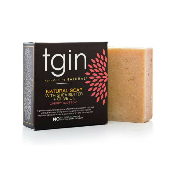 TGIN Olive Oil Soap - Cherry Blossom (4 oz. Bar)