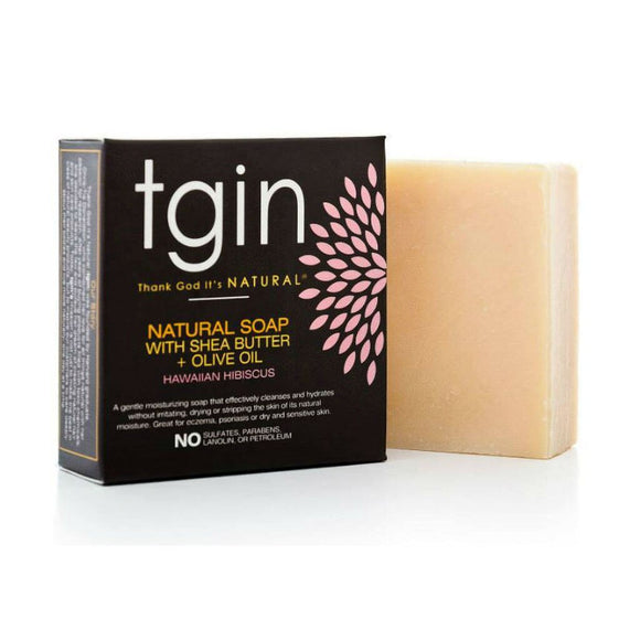 Tgin Olive Oil Soap - Hawaiian Hibiscus 4Oz