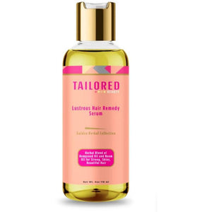 Tailored Beauty Golden Herbal Collection Lustrous Hair Remedy Serum (4 oz.)