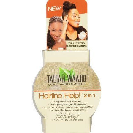 Taliah Waajid Curls Waves And Naturals Hairline Help! 2-In-1 2 Oz