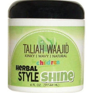 Taliah Waajid Kinky Wavy Natural Herbal Style & Shine 6 Oz