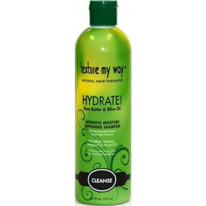 Texture My Way Hydrate Intensive Moisture Softening Shampoo - 12 Oz