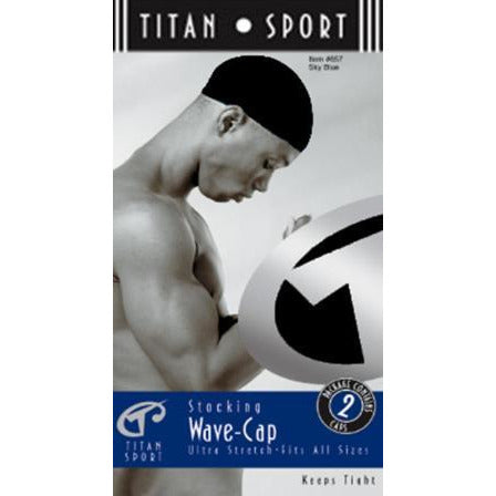 Titan Stocking Wave Cap Black 11652