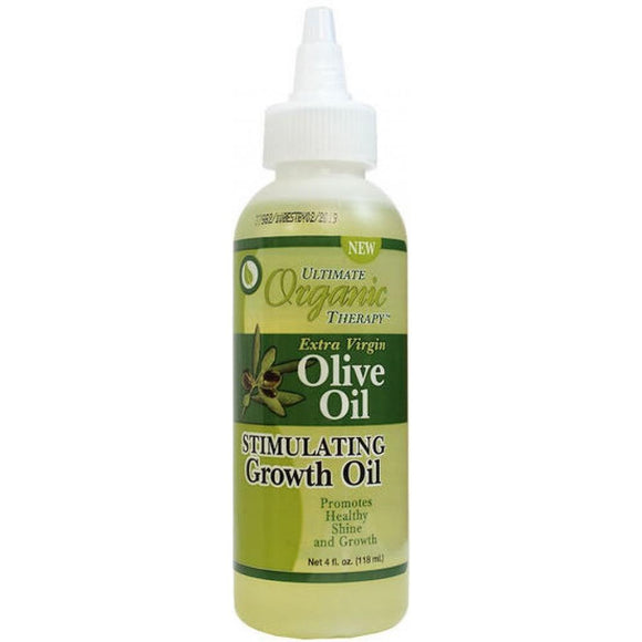 Ultimate Organic Therapy Olive Oil Stimulating Growth Oil - 4 Oz