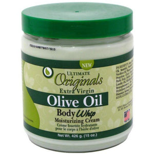Ultimate Orginals Extra-Virgin Olive Oil Body Whip Cream - 15 Oz
