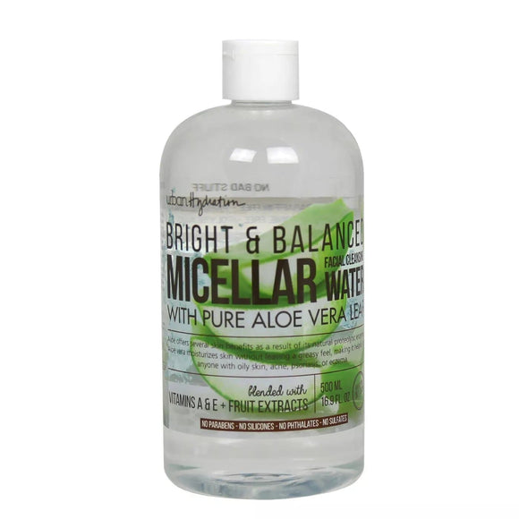 Urban Hydration Bright & Balanced Aloe Micellar Water 16.9 OZ