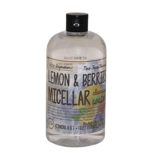 Urban Hydration Lemon & Berries Micellar Water 16.9Z