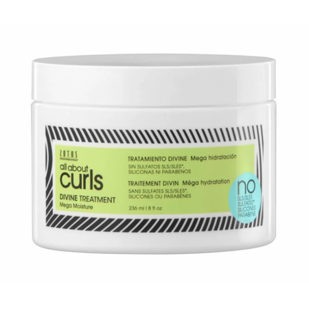 Zotos All About Curls Divine Treatment, 8oz