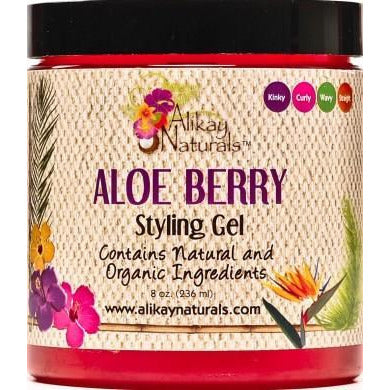Alikay Naturals Aloe Berry Styling Gel, 8Oz