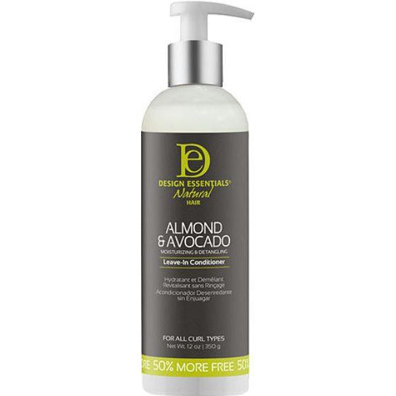 Design Essentials Almond & Avocado Detangling Leave-In Conditioner - 12Oz