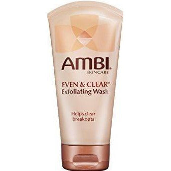 Ambi Even And Clear Exfoliating Wash - 5 Oz