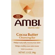 Ambi Skin Care Cocoa Butter Cleansing Bar - 3.5 Oz