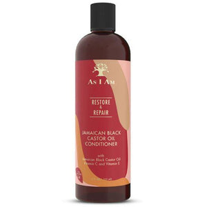As I Am Jamaican Black Castor Oil Restore & Repair Conditioner 12OZ