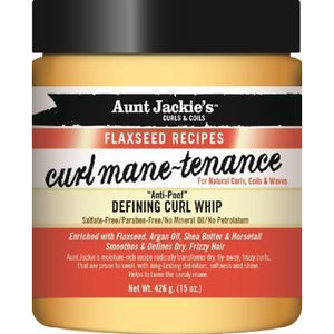 Aunt Jackie'S Flaxseed Collection Curl Mane-Tenance Defining Curl Whip 15 Oz