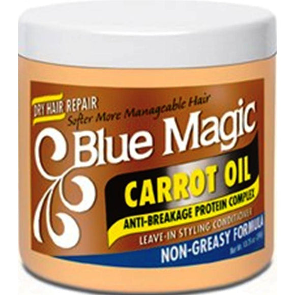 Blue Magic Carrot Oil Leave In Styling Conditioner - 13.75 Oz