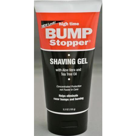 High Time Bump Stopper Medicated Shaving Gel, 5.3Oz