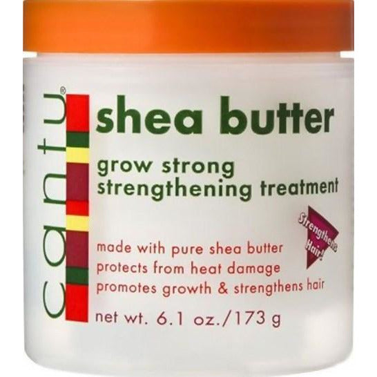 Cantu Shea Butter Grow Strong Strengthening Treatment 6 Ounce