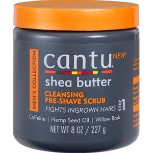 Cantu Shea Butter Men's Collection Cleansing Pre-Shave Scrub, 8 Oz
