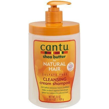 Cantu Shea Butter Natural Hair Cleansing Cream Shampoo - 25Oz