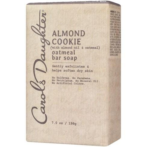 Carol's Daughter Almond Cookie Oatmeal Bar Soap, 7 Oz