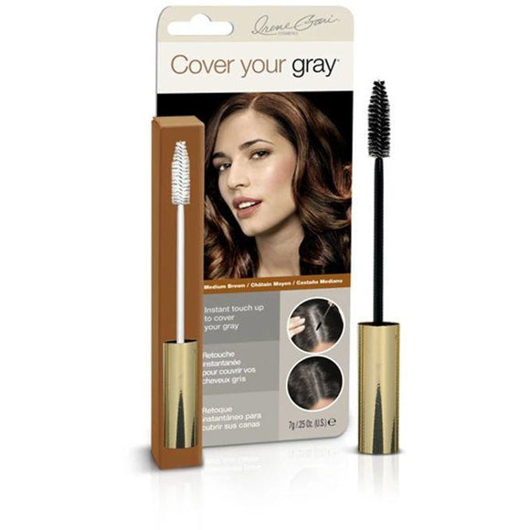Cover Your Gray Brush-In Wand Medium Brown, 0.25 Oz