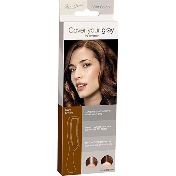 Cover Your Gray Color Comb Dark Brown, 0.33 Oz