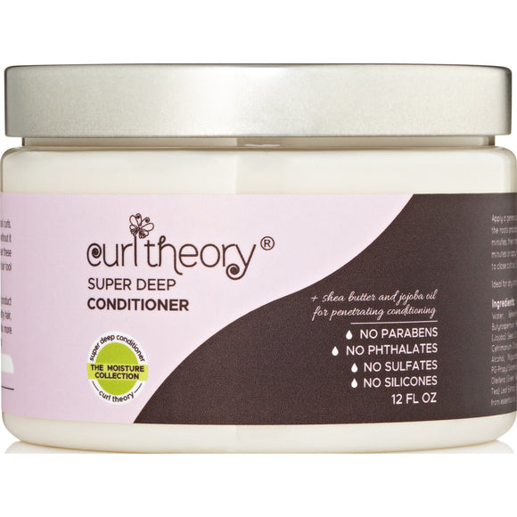 Curl Theory Super Deep Conditioner 12 Oz