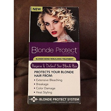 Blond Protect by Color Oops Blonde Bond Rebuilding Treatment Preserve Your Hair