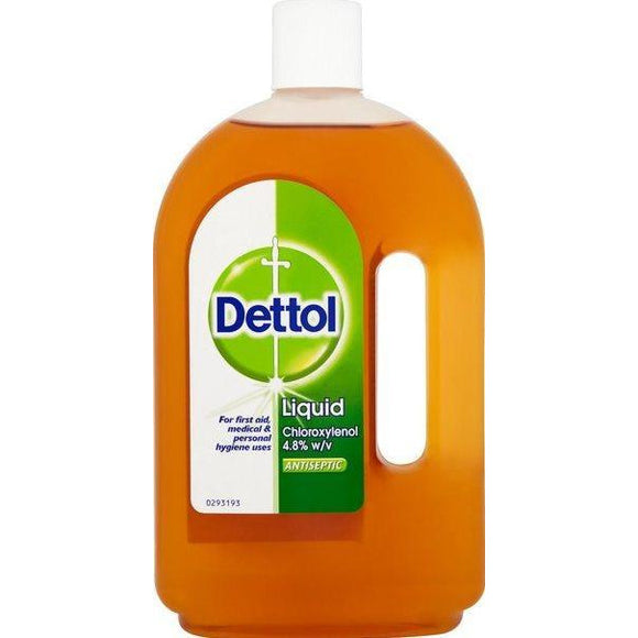 Dettol Antiseptic 25.35 Oz 750Ml