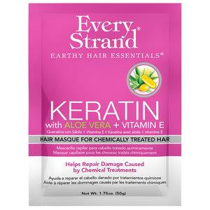 Every Strand Keratin With Aloe Vera + Vitamin E Hair Masque For Chemically Treated Hair, 15 Oz