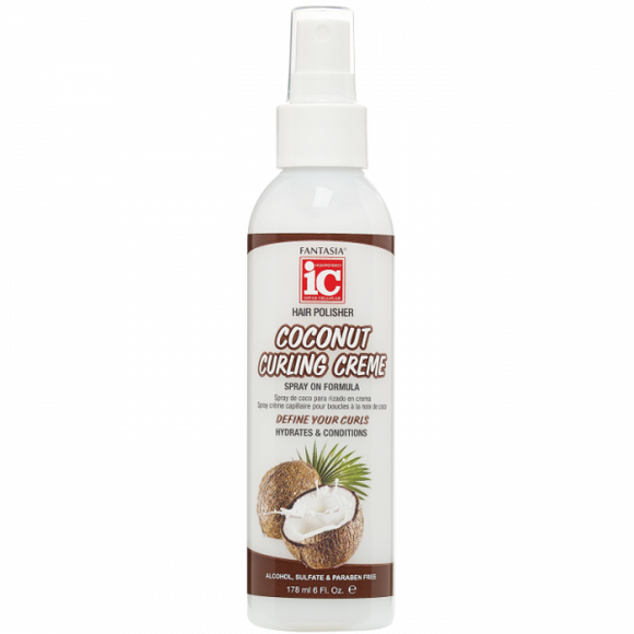 Fantasia Coconut Curling Creme Spray 6Oz