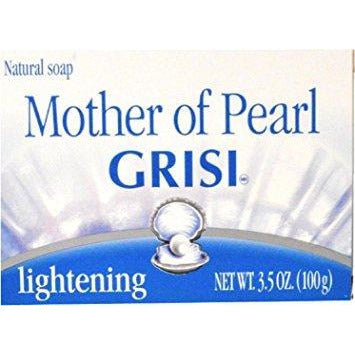 Grisi Concha Nacar Mother Of Pearl Soap, 3.5 Oz