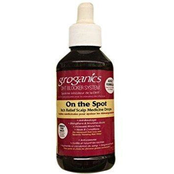 Groganics On The Spot Drops 4Oz