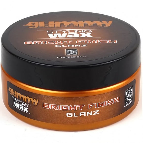 Fonex Gummy Styling Wax - Bright Finish, 5Oz