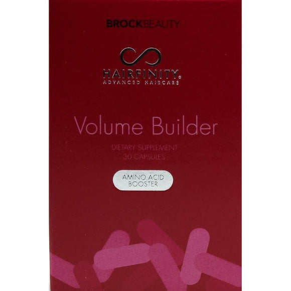 Hairfinity Volume Builder Dietary Supplement Amino Acid Booster 30 Ct