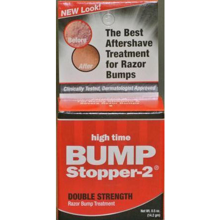 High Time Bump Stopper-2 Double Strength Razor Bump Treatment, 0.5Oz
