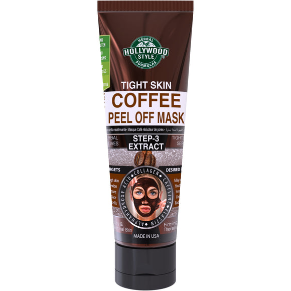 Hollywood Style Coffee Peel-Off Mask - 3.2 Oz