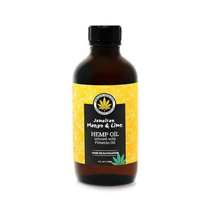 Jamaican Mango & Lime Hemp Seed Oil Infused With Pimento Oil - 4 Oz