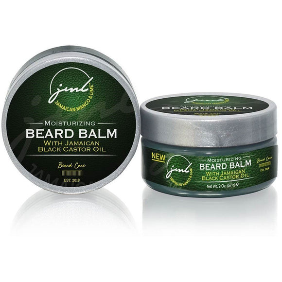 Jamaican Mango & Lime Men's Moisturizing Beard Balm With Jamaican Black Castor Oil - 2 Oz