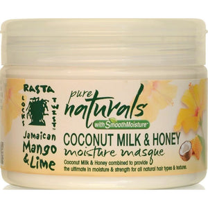 Jamaican Mango & Lime Pure Naturals Coconut Milk & Honey, 12 Ounce