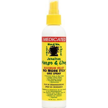 Jamaican Mango No More Itch Gro Spray, Maximum, 16 Ounce