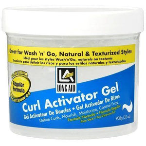 Long Aid Curl Activator Gel Regular Formula 32 Oz