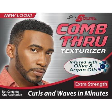 Luster's S-Curl Comb Thru Texturizer, Extra Strength Kit Super