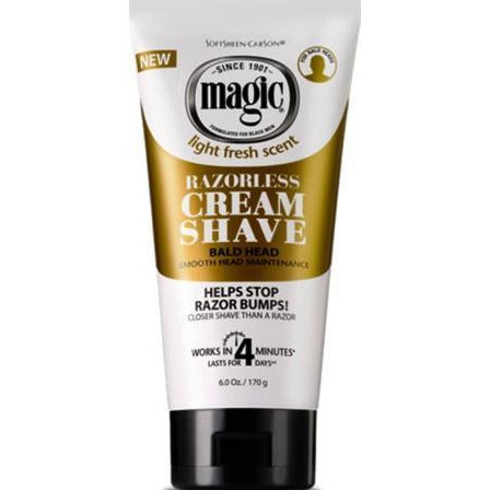 Magic Shave Bald 6 Oz